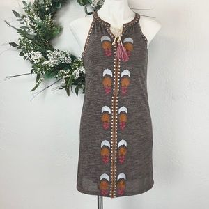 THML Bohemian shift dress